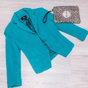 H&M Teal Blazer Size 4 / XS
